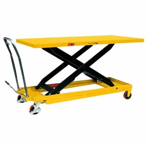 Picture of Huge Deck Size Scissor Lift Table with Foot Pump 500kg (Perth)