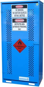 Picture of Single Sided Access Gas Cage Store Cabinet (Perth)