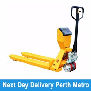 Picture of Pallet Truck with scales 568mm Width Perth