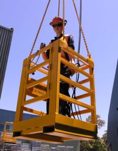 Picture of Crane Man Cage 1 Man (No Roof)