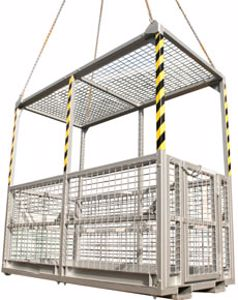 Picture of Crane Man Cages 6 Man (with Roof)