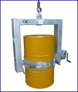 Picture of Crane Drum Handling Drum Lifter 1000Kg SWL with Handle Rotation