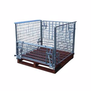 Picture of Pallet Cage with Timber Pallet Perth