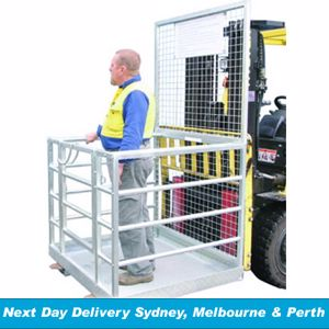 Picture of Forklift Safety Cage - Assembled