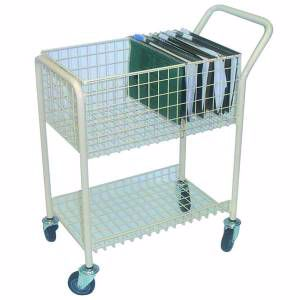 Picture of Mail File Trolley 2 Shelf Perth