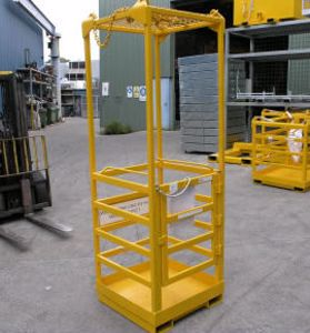 Picture of Crane Cage with Roof (1 Man) Perth