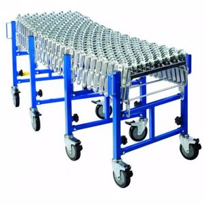 Picture of Heavy Duty Skate Wheel Expandable Conveyor 600mm Width Perth