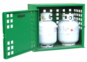 Picture of 2 x 9kg LPG Storage Cage Perth