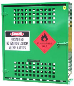 Picture of 6 x 9kg LPG Storage Cage Perth