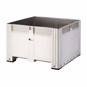 Picture of Plastic Pallet Bins Solid with lid option Perth