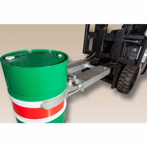Picture of Single Zinc Drum Lifter Perth
