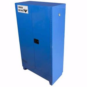 Picture of 250 Litre Corrosive Safety Cabinet 2 Doors and 3 Shelves