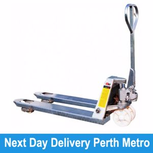 Picture of Galvanised Pallet Truck Perth