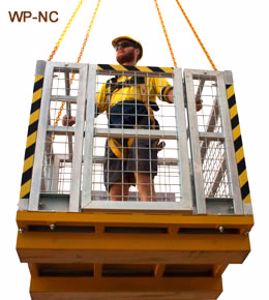 Picture of Crane Man Cages 4 Man No Roof (Perth)