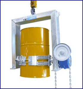 Picture of Crane Drum Handling Drum Lifter 500Kg SWL with Chain Rotation
