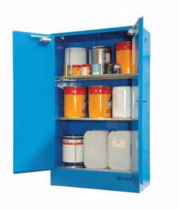 Picture of Corrosive Storage Cabinets (250 Litre) Double Door Perth