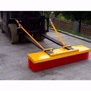 Picture of Forklift Broom 1500mm 8 x Bristle Rows Heavy Duty